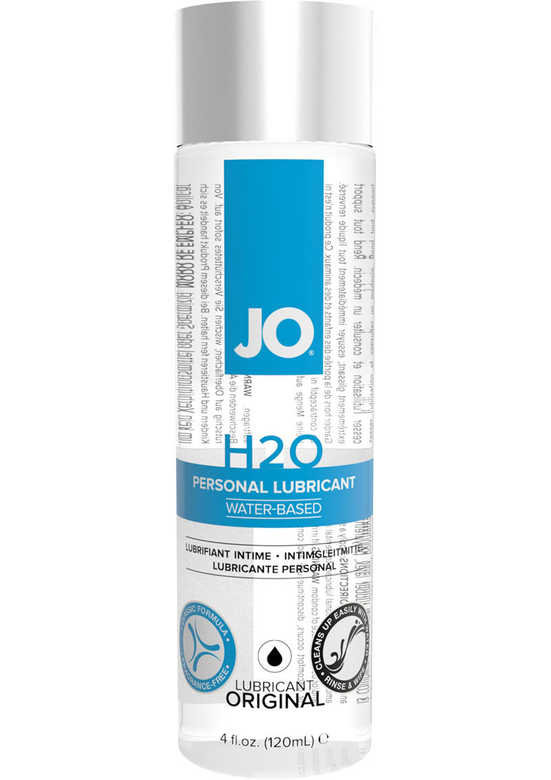 Jo H2o Water Based Lubricant 4.5 Ounce